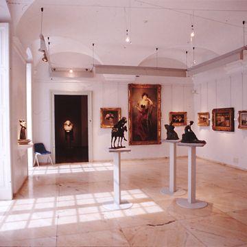 Raccolte Frugone, salone della Belle Epoque - Villa Grimaldi Fassio