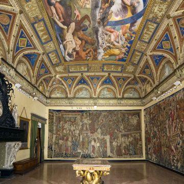 Villa del Principe Palazzo di Andrea Doria - Salone dei Giganti - gli arazzi