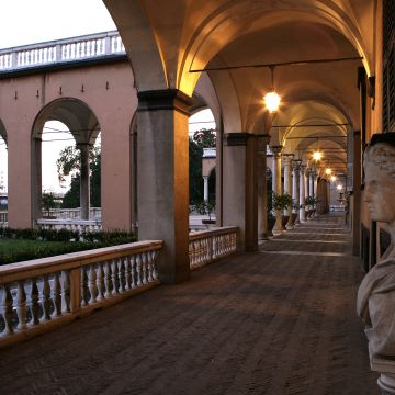 Villa del Principe - Veduta del porticato