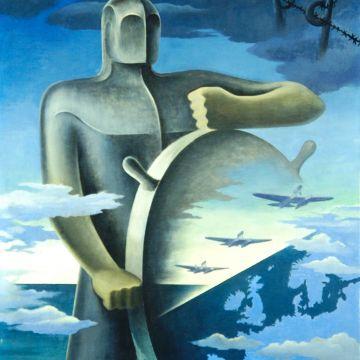Ernesto Thayaht - Il grande nocchiere, 1939 - DOCSAI - ©Archivio fotografico Gen