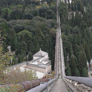 Ponte sul rio Veilino - Cimitero Monumentale di Staglieno