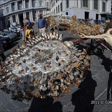 Crocifissi processionali - Foto: Molinari @genovacittadigitale