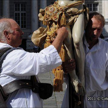 Processional crucifixese - Foto: Molinari @genovacittadigitale