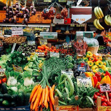 Il mercato Orientale in via XX Settembre