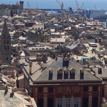 Tetti di Genova - Foto Ufficio Comunicazione Città Metropolitana di Genova