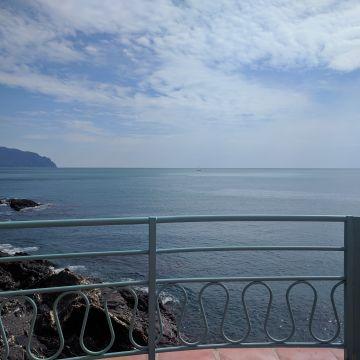 Nervi - mare e promontorio di Portofino